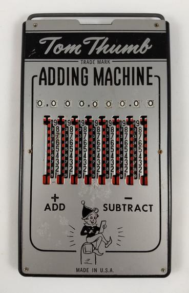 Tom Thumb Adding Machine