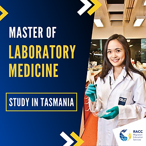 Master of Laboratory Medicin in Tasmania