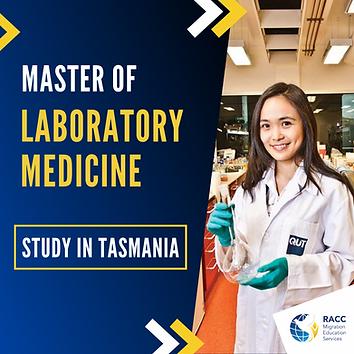Master of Laboratory Medicin in Tasmania
