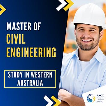 Master of Civil Engineering
