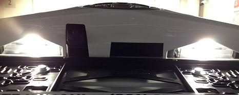 Подсветка номера Toyota RAV4 4 поколения