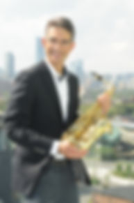Rubinoff holding sax.JPG