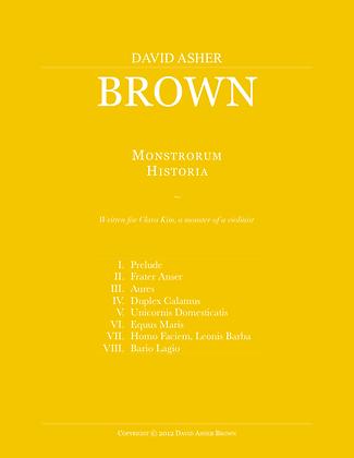 Monstrorum Historia