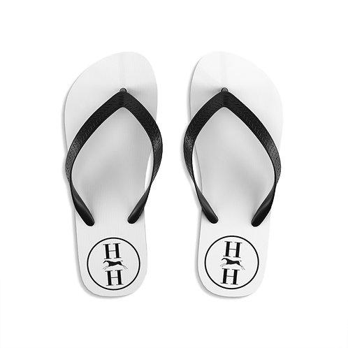 H & H Logo-Unisex Flip-Flops