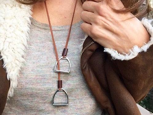 Elegant Stirrup Necklace