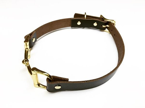 Equine Leather Dog Collar