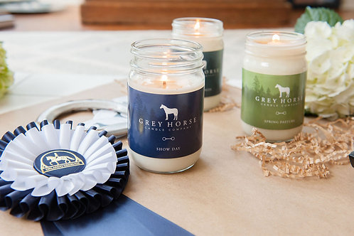 Gray Horse Candles
