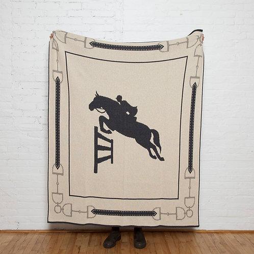Equestrian Jumper Throw