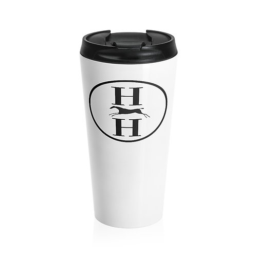 H & H-Stainless Steel Travel Mug