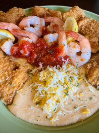 Catfish Shrimp & Grits