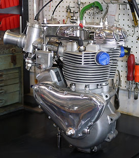Nitro Triumph Pre Unit Engine GP Carbs