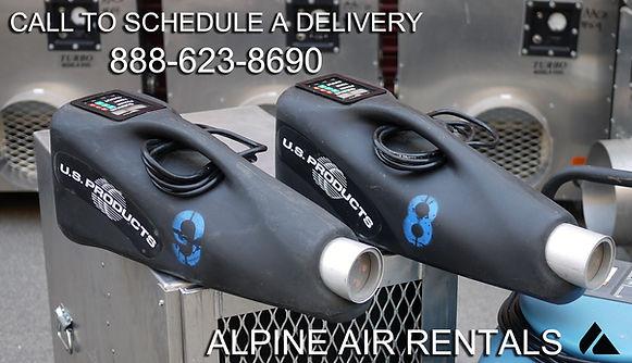 ozone generator rental