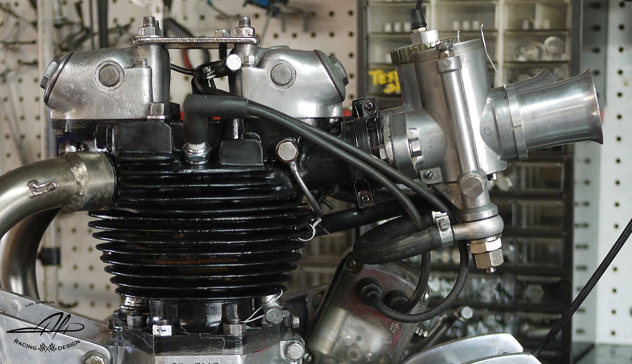 Alp 650 Triumph Iron Cylinder Head
