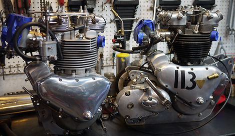 Vintage Pre Unit Triumph Engines
