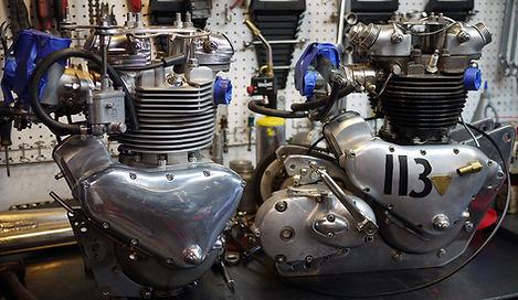 Vintage Pre Unit Triumph Engines