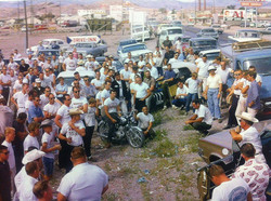 Drivers meeting in Wendover