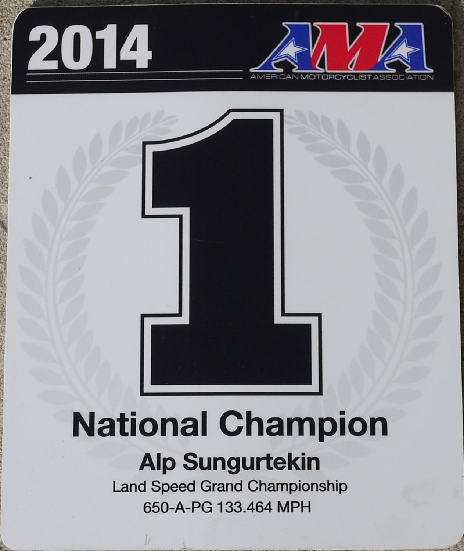 Alp 650 AMA A-PG Record