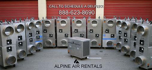 air scrubber rental