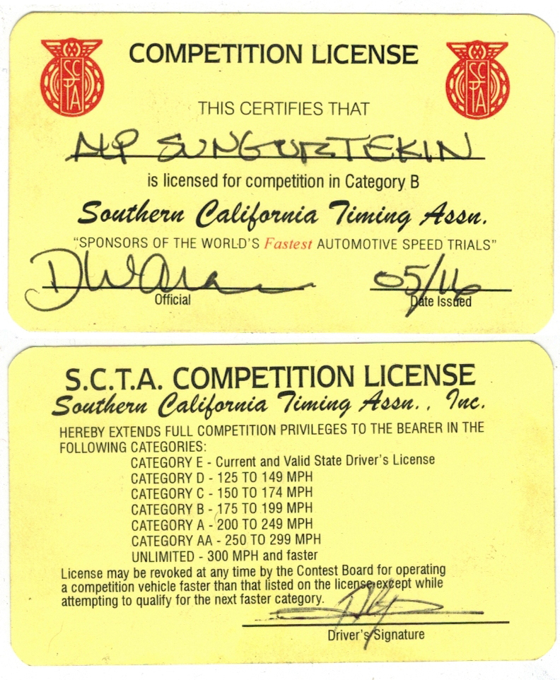 alp racing license 2