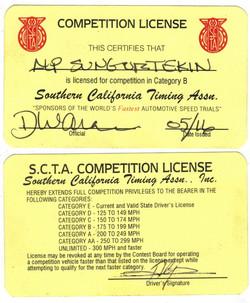 alp racing license 2