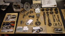 Rebuilding the pre unit Gearbox