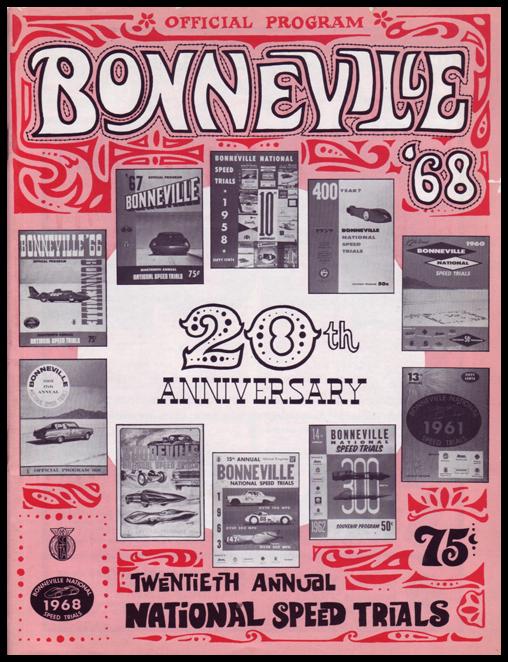 Bonneville Speedweek 1968 Poster