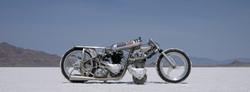 Alp 650 Triumph Land Speed Racer