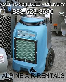 dehumidifier rental