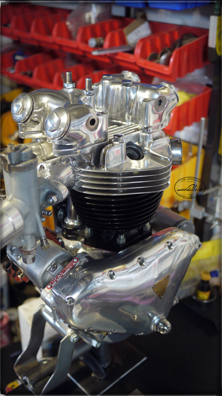 alp 650 pre unit custom engine