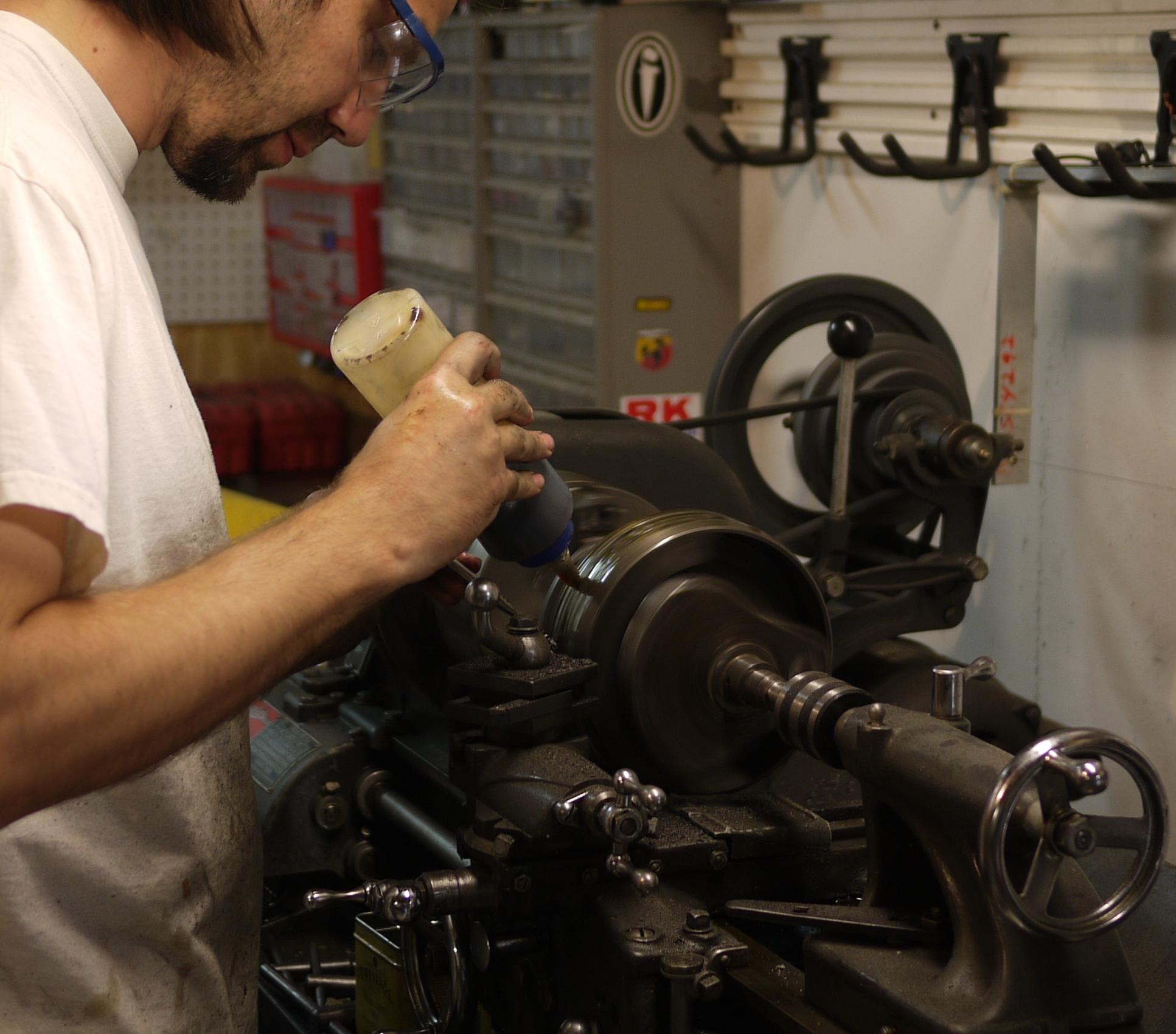 Modifying Triumph 650 Crankshaft