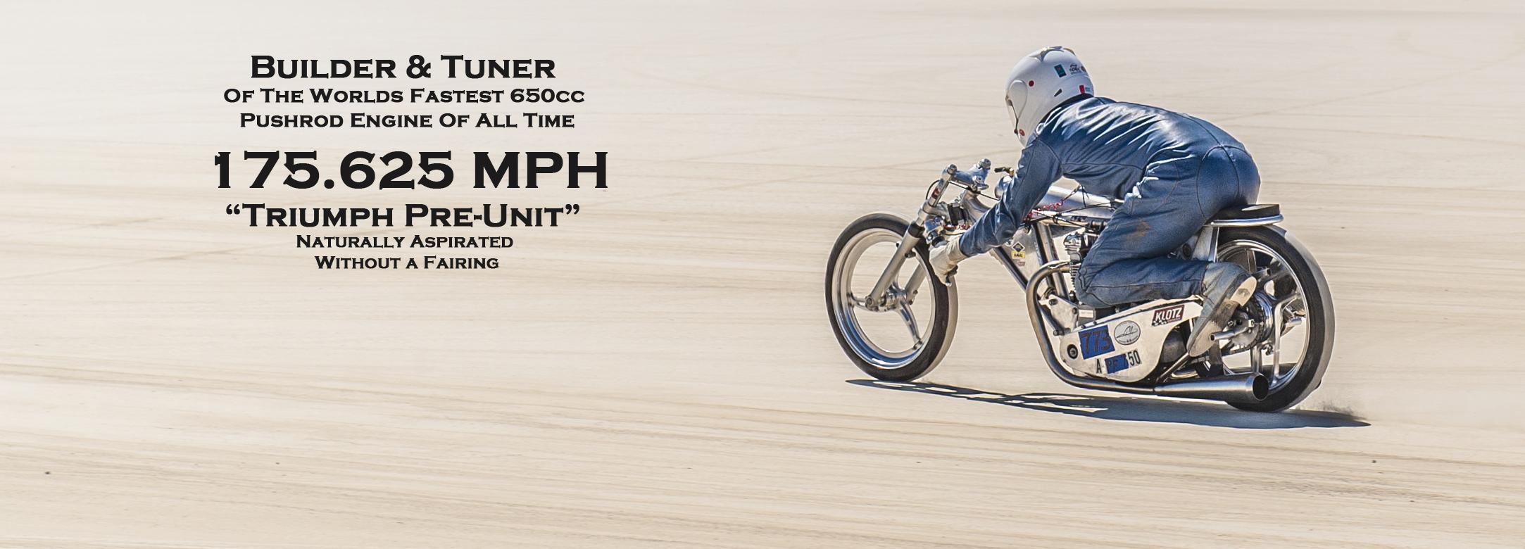 world's fastest Triumph