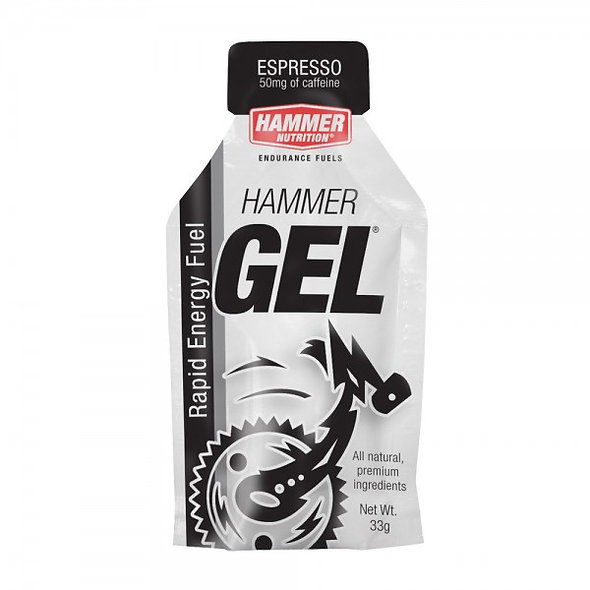 Hammer Gel- Espresso (contains caffiene 50mg)