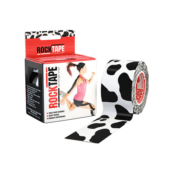 RockTape Patterns - Cow 5cm wide by 5m long.