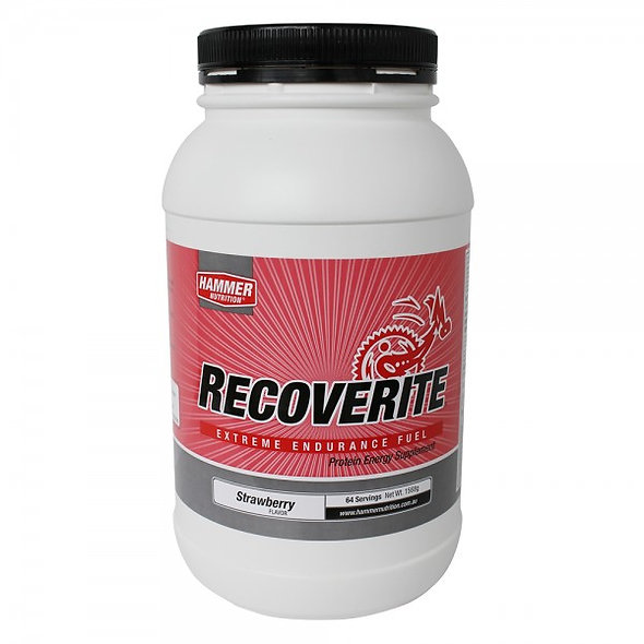 Recoverite - 64 Servings- Strawberry