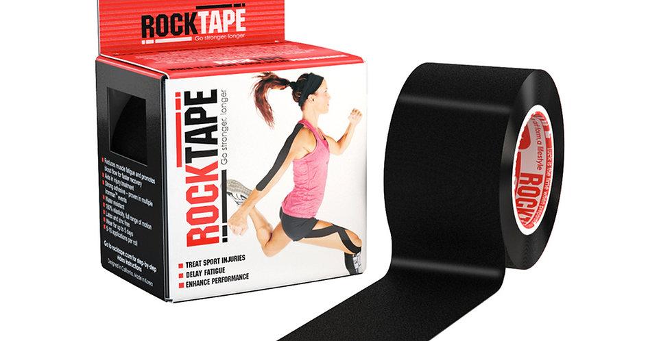RockTape Standard - Black 5cm wide by 5m long.