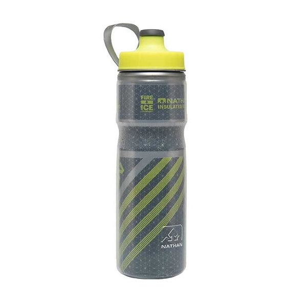 Nathan Fire and Ice 2 Water bottle - Dark Slate