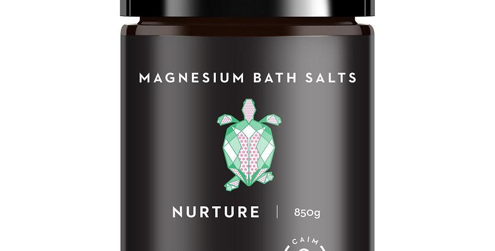 NURTURE MAGNESIUM BATH SALTS EXOTIC INDULGENCE 850g