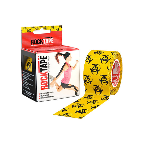 RockTape Patterns - BioHazard 5cm wide by 5m long.