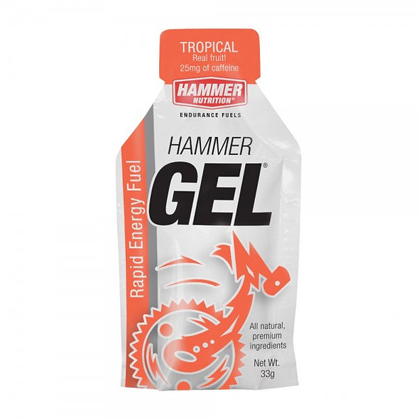 Hammer Gel- Tropical (contains caffiene 25mg)