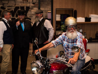 Get revved up for the distinguished gentleman's ride