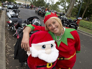 Motorbike riders out for charity