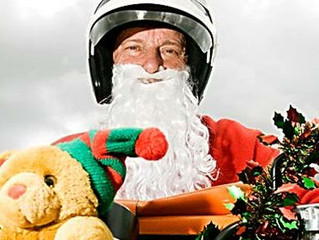 Bikers give Christmas a rev for kids