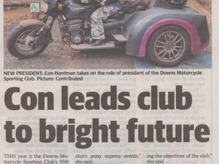 Con leads club to bright future