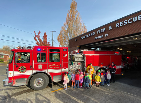 Thank you, Portland Fire & Rescue