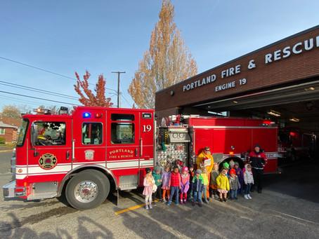 Thank you, Portland Fire & Rescue