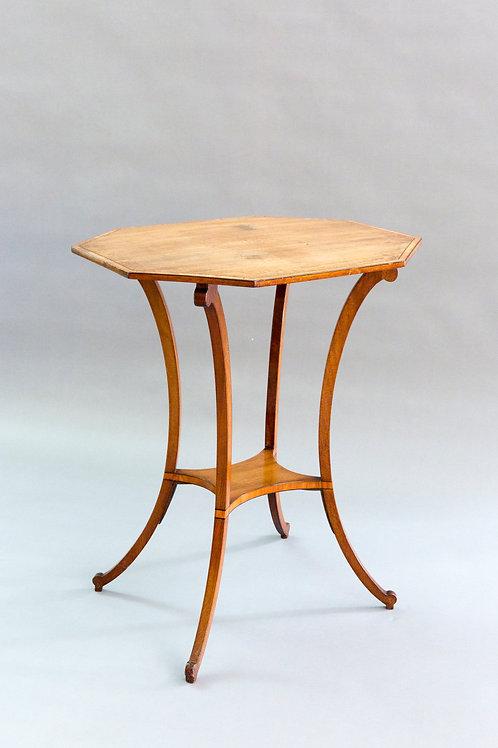 Mahogany Lamp Table - Sheraton Period
