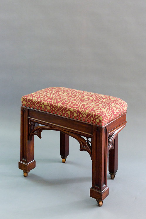 Gothic Style Regency Period Stool