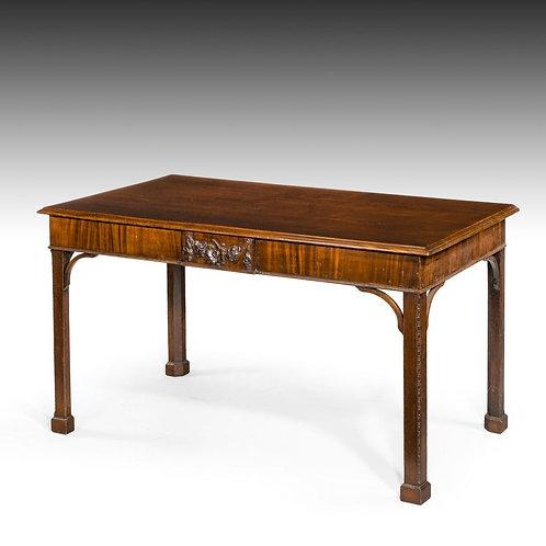 Fine Chippendale Period Mahogany Console Table