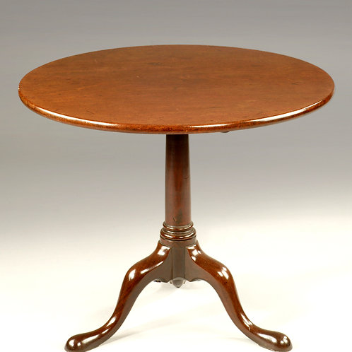 George II Mahogany Tripod Table