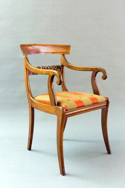 Sabre Leg Armchair